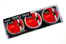 Hard Muk Triple Hair Wax Gift Pack 3x Tins of 50g Brutal Hold Mud (£6.00 Each)