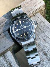 ^*^Genuine Vintage Rolex 5512 Submariner- 4 line Watch