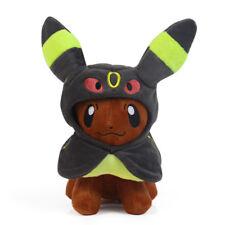 "Pokemon Eevee Poncho  Umbreon Plush Toy Stuffed Doll Figure Soft Gift 7"""