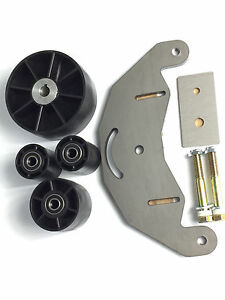 Belt Grinder 2x72 wheel set for knife grinders with steel d-plate