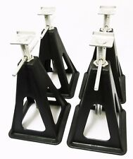 CARAVAN MOTORHOME PLASTIC STABILISING JACK STANDS set of 4 - leveller axle stand