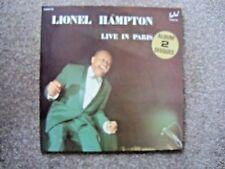 LIONEL HAMPTON    LIVE IN PARIS   DOUBLE ALBUM