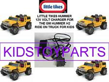 12V Charger for the YELLOW Little Tikes Hummer H2 Ride On Car For Kids