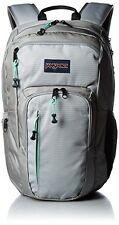 "NEW JanSport RECRUIT 15"" Backpack w Laptop Sleeve Grey Rabbit JSOOT69G9ZE NWT"
