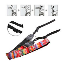 Vintage Camera Shoulder Neck Strap Belt For Nikon Canon Sony Panasonic SLR DSLR