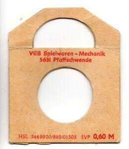 Original Puppenschallplatte für Sprechpuppe, DDR um 1984