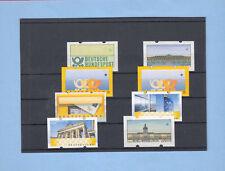 Berlin Atm Mk 1987 11 Werte 4 Maximumkarten Carte Maximum Card Mc Cm A9257 Berlin 1980-1990 Deutschland Ab 1945