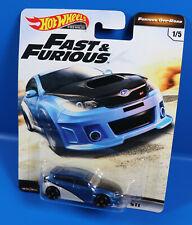 Mattel Hot Wheels Fast & Furious Impreza WRX STI 1/5