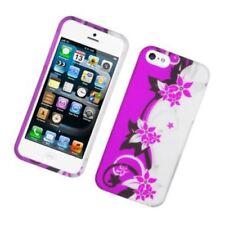 Fundas y carcasas Para iPhone 5s de plástico de color principal plata para teléfonos móviles y PDAs
