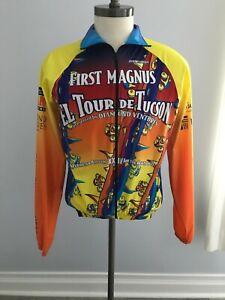 Squadra Men's Raglan Sleeve Full Zip Biker Wind Jacket  Size: S