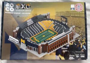 Rare Brand New FOCO BRXLZ Stadium Series Michigan Stadium Big House