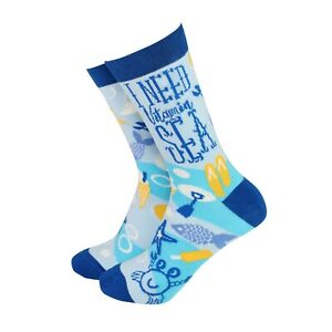 Womens Vitamin Sea Funny Novelty BAMBOO Gift Socks | Sock Therapy