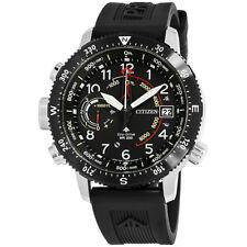 Citizen Promaster Altichron Black Dial Silicone Strap Men's Watch BN5058-07E