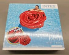 INTEX GIANT VIVID COLOR RED ROSE POOL FLOAT