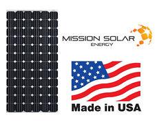 New Mission Solar 320W Watts 24V Volts Monocrystalline Solar Panel Made In USA!