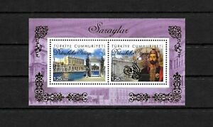 TURKEY - 2015 SULTAN PALACE DOLMABAHCE ISTANBUL, S.SHEET MNH, EXCELLENT