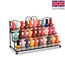 "�Ÿ""�3 Tier Metal Nail Polish Shelf Display Mount Varnish Rack Lipstick Holder Gift"
