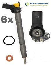 Injektor Einspritzdüse Audi A4 A5 A6 VW Touareg 3.0TDI 0445115037 059130277AB 6x