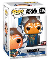 AHSOKA EXCLUSIVE STAR WARS FUNKO POP CLONE WARS #414 PRE ORDER