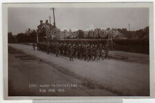 INFANTRY COY marching to TOTTERIDGE nr WHETSTONE Barnet Finchley