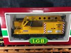 LGB 4042 Matra Yellow Construction Crane Car * Original Box * G Scale *