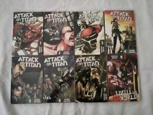 ATTACK ON TITAN Hajime Isayama Manga Full Set English Comic Volume 1-32 Fast Shi