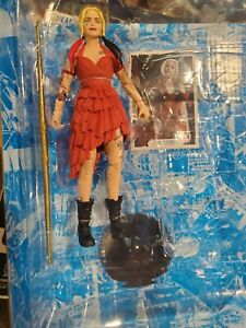 McFarlane Toys DC Multiverse Harley Quinn Suicide Squad Figure In Hand NO BAF