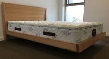 """""""Cloud""""   Hardwood Tassie Oak Queen Bed Made in Australia"""