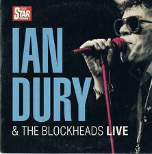 Ian Dury & The Blockheads - Live  - Music CD N/Paper