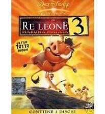 DISNEY DVD Il re leone 3 - fuori catalogo (2 dvd)