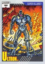 ULTRON / Marvel Universe Series 2 (Impel 1991) BASE Trading Card #84