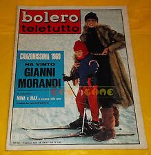 BOLERO FILM 1970 n. 1185 Mina, Annie Girardot, Delia Scala, Marina Coffa