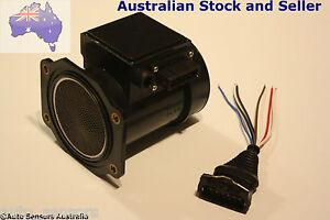 Z32 AFM Air Flow Meter MAF Mass 80mm 300ZX s13 s14 s15 with plug