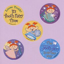 10 Tooth Fairy - Large Stickers - Party Favors