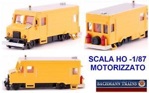 Bachmann Van Also FS Powered Maintenance Rail Ho-Scale 46204