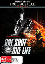 ONE SHOT ONE LIFE - TRUE JUSTICE SEASON 2 - BRAND NEW/SEALED DVD (STEVEN SEAGAL)