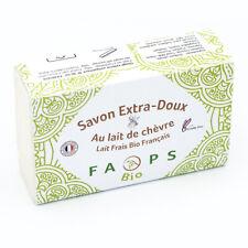 Savon Artisanal Français 12% lait de Chèvre frais BiO sur une base 100% Végétale