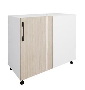 Hardis Single Door Base Straight Corner Kitchen Cabinet - Flat Pack