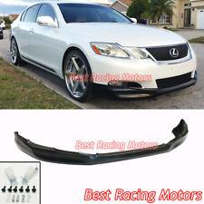 INS Style Front Bumper Lip (Urethane) Fits 08-11 Lexus GS350 GS460 GS450h