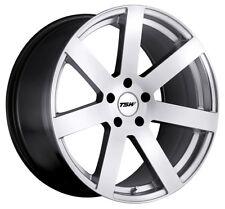 20x8.5 TSW Bardo 5x114.3 +20 Hyper Silver Rims Fits Honda Accord 2008-2012