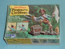 MPC Disney Pirates of the Caribbean model kit HOIST HIGH THE JOLLY ROGER unused