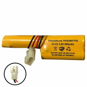 3.6v 800mAh Ni-CD Battery Pack Replacement for Emergency / Exit Light