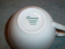 Williams Sonoma BRASSERIE Blue Coffee Cup  (1)