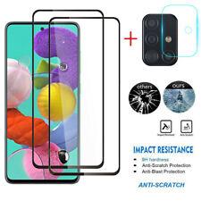 For Samsung Galaxy A10e A20S A51 4G Full Screen Protector Camera Lens Protector