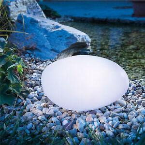 Solar Leuchtstein 7 Lichtfarben Steinleuchte Garten Solarleuchte, esotec 106102