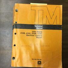 John Deere 410b 410c 510b 510c Technical Repair Manual Backhoe Loader Tm 1469