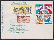 DDR Mi Nr 901 - 904 4er Block MiF R- Brief,, Bärenstein 1963, Altsignatur BPP