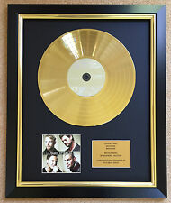 Boyzone / Ltd Edition CD Gold Disc / Record / Brother