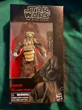 Star Wars Black Series Disney Store Exclusive Zuckuss action figure brand new