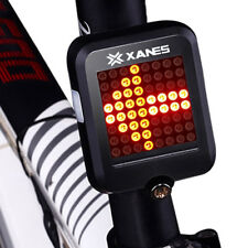 G-Sensor Car Bicycle Bike Rear Tail Laser 64LED Indicator Turn Signal Light USB